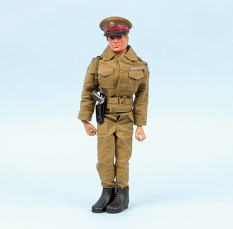 Palitoy Action Man Late Issue British Army Major Eagle Eye Blonde
