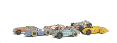 A group of 7 Racing Cars including - (1) No