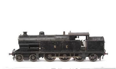 Gauge 2 Bassett-Lowke A5 Tank Loco 462 black NE, Live Steam