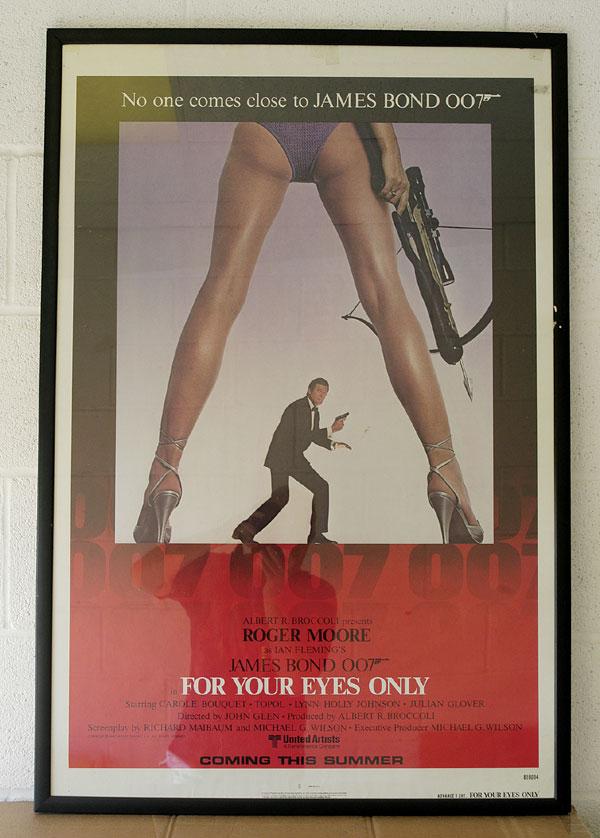 One sheet poster frame