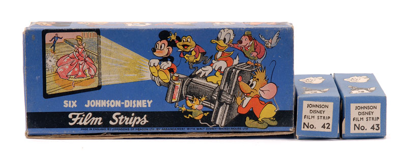 Disney film johnson strip