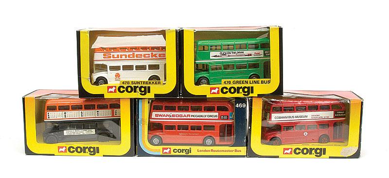 Corgi group of Routemaster Buses - comprising, No
