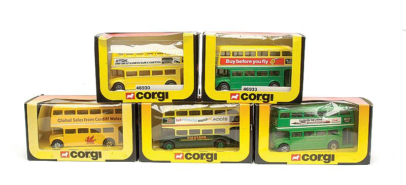 Corgi group of Routemaster Buses - comprising, 2 x No