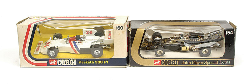 Corgi Toys Pair of Formula 1 Cars - No