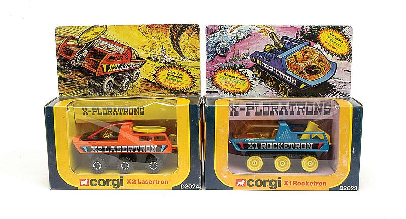 """Corgi Toys Pair of """"X-Ploratrons"""" Vehicles - No"""