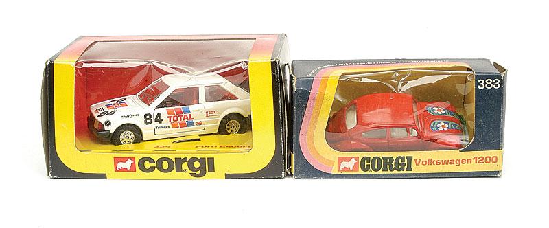 Corgi Toys WhizzWheels Pair of Vehicles - No