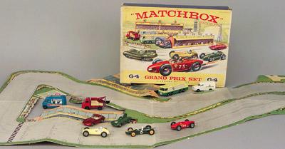 Matchbox G4 Grand Prix Gift Set Containing Ferrari Racing Car