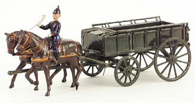 Britains - Set 146 - RASC Wagon - 1930s version - 2 Horse Team ...
