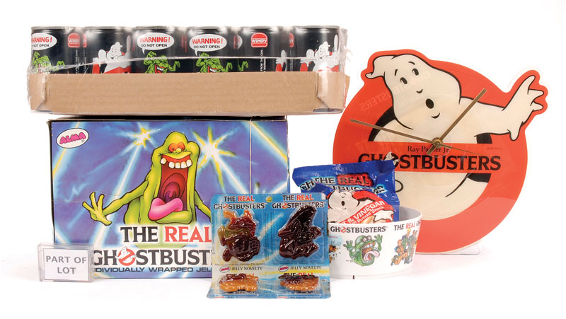 Ghostbusters collection of paper plates napkins food packaging etc including Wimpy Fast Food Coca-Cola ghost promotional tins; Wimpy Slime milk shake ...  sc 1 st  Vectis Auctions & Ghostbusters collection of paper plates napkins food packaging etc ...