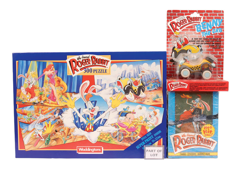 ljn toys who framed roger rabbit figures and movie memorabilia 1988 issue 1 2 super flexi - Who Framed Roger Rabbit Movie