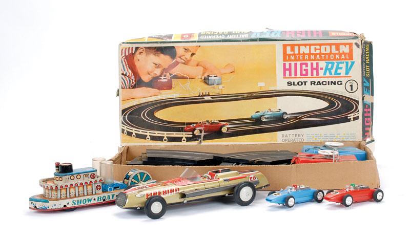 Lincoln Hong Kong Slot Car Racing Set And Other Models 1 Lincoln