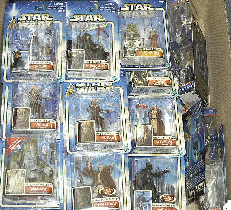 Hasbro Star Wars Saga Attack Of The Clones 3 34 Figures Captain