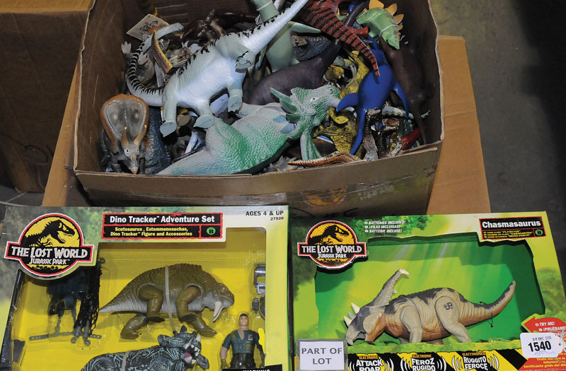 Collection Of Jurassic Park And The Lost World Dinosaur And Other