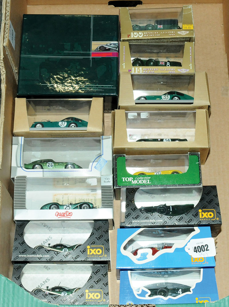 Ixo, Quartzo, Brumm, Top Collection model and similar - a mixed boxed car group performance related