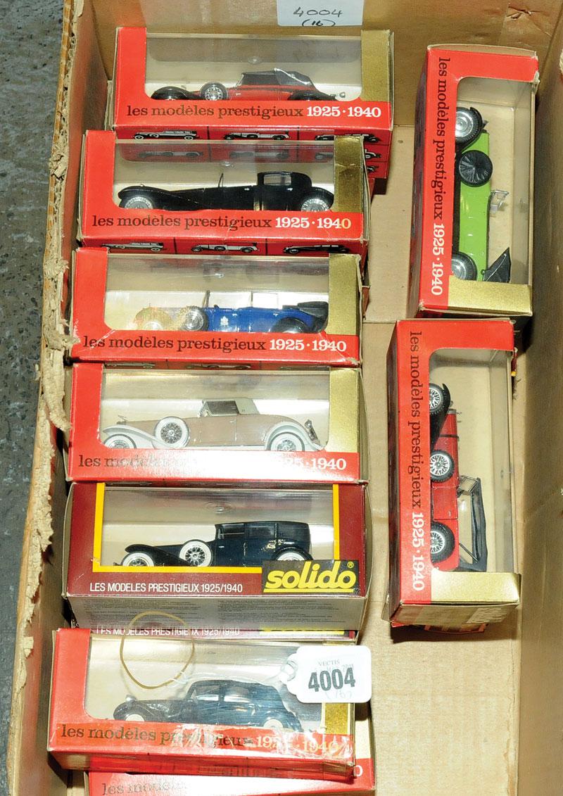 Solido a mixed boxed car group