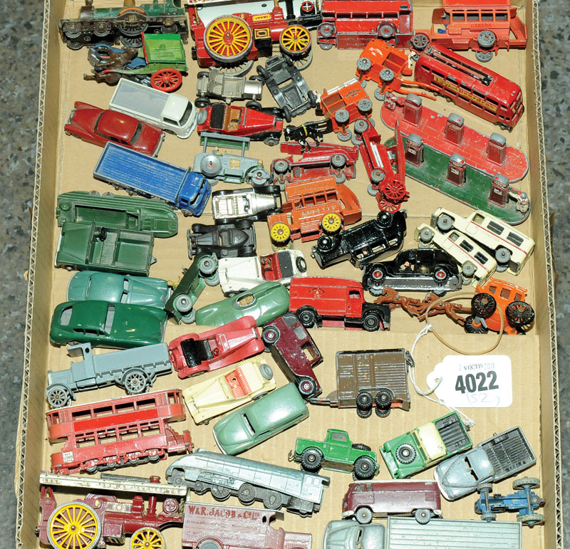 Dinky Dublo, Matchbox Models of Yesteryear, Wiking and similar a mixed small scale unboxed group