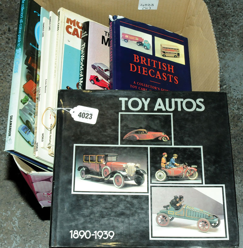 Books a group covering Model Cars, Making Model Cars and Famous Cars