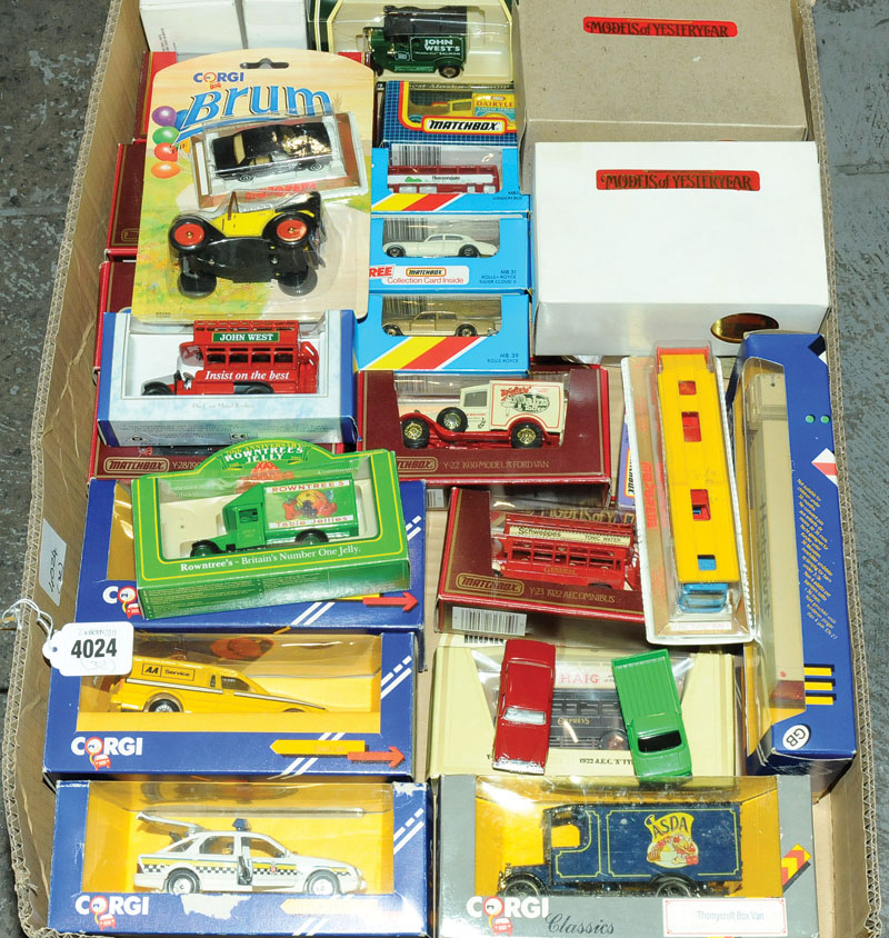Corgi Classics, Matchbox Models of Yesteryear, Lledo, Oxford Diecast and similar a mixed and varied group