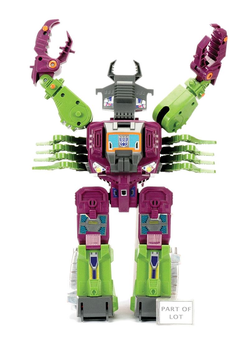 Hasbrotakara Transformers Headmaster Decepticon Base Scorponok