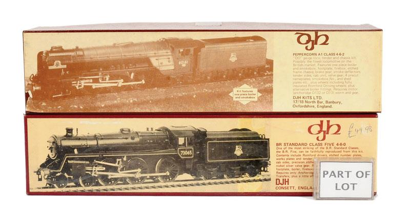 OO Gauge a trio of DJH Locomotive Kits comprising K30 4-6-2