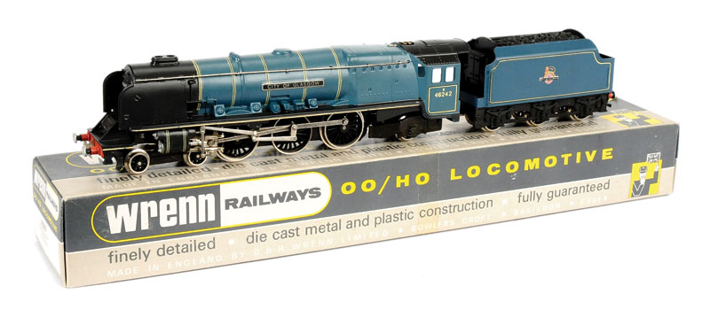 Wrenn W2229 4-6-2 City of Glasgow BR 46242 Locomotive and Tender in  unstamped box ...