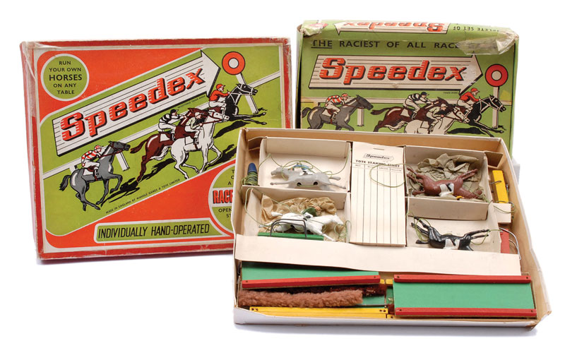 Wandell Games Toys 40 X Speedex Race Games Each Comprising Impressive Wooden Horse Racing Game