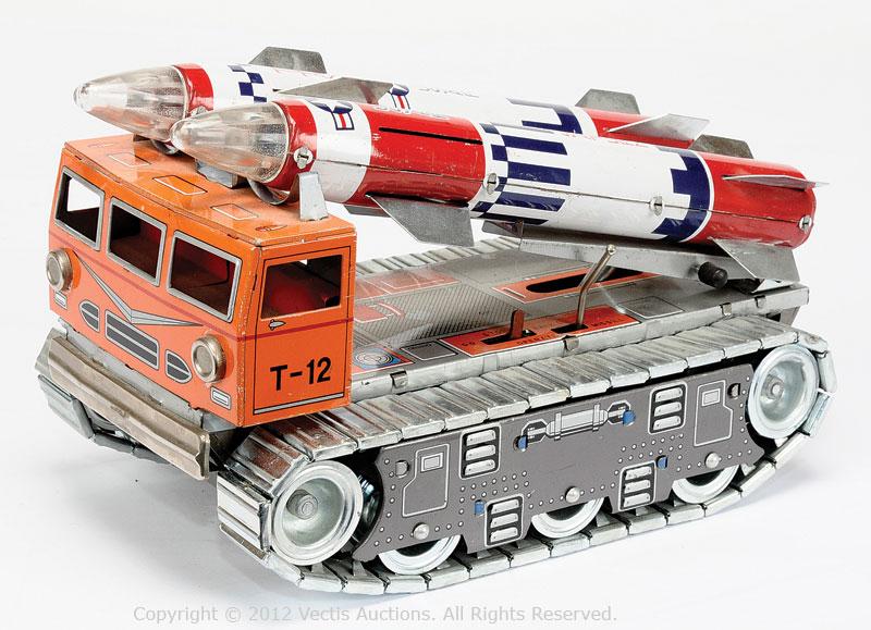 Daiya Tracked Rocket Launching vehicle