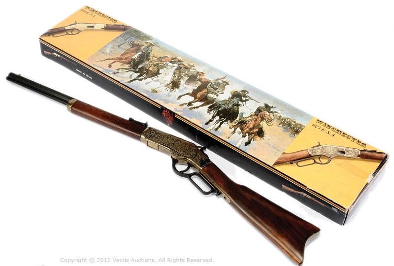 Denix spain replica winchester yellow boy saddle for Replica mobel england