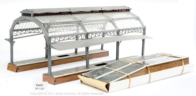 Ace O Gauge Canopy Station Set consisting of 2 x Platforms with a glass canopy together with ...  sc 1 st  Vectis Auctions : ace canopy - memphite.com