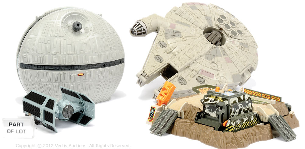 Galoob Micro Machines Including Star Wars The Death Star Action