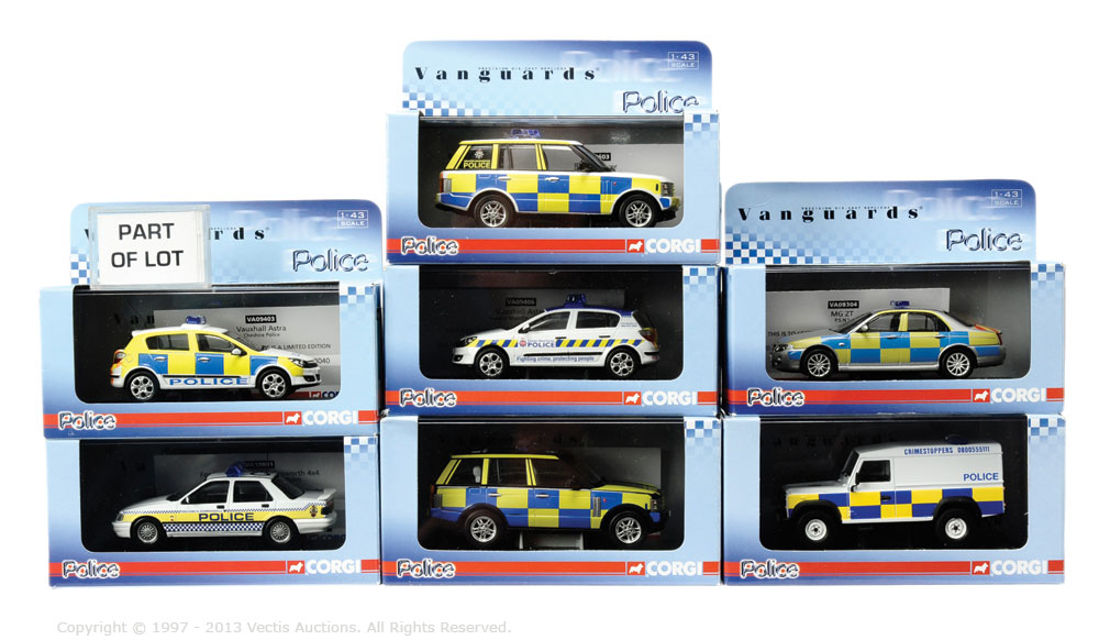 Vanguards Police boxed Car group