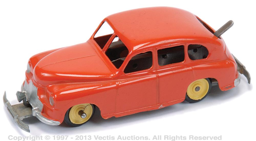 Mettoy Standard Vanguard Bump & Go Car