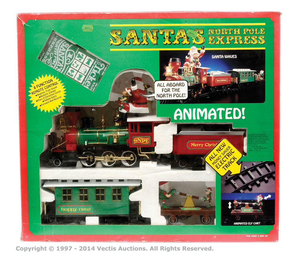 Capricorn Electronics G Gauge Santa\'s North Pole Express Train