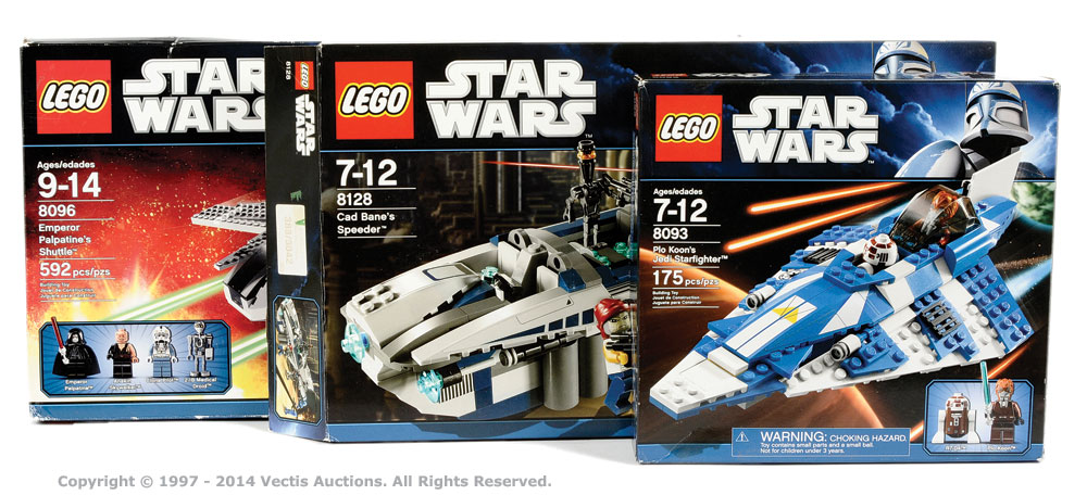 Lego Star Wars Collection 8093 Plo Koons Jedi Starfighter