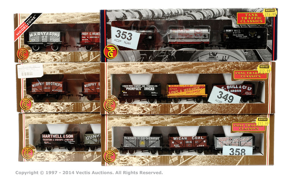 OO Gauge 6 x Coal Trader Classics and Tanker Traffic