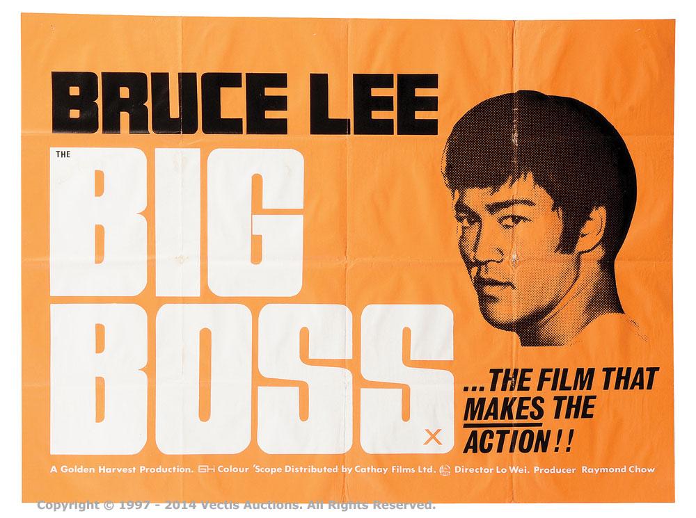 "The Big Boss (1971). British Quad (40"" x 30"") Film Poster"
