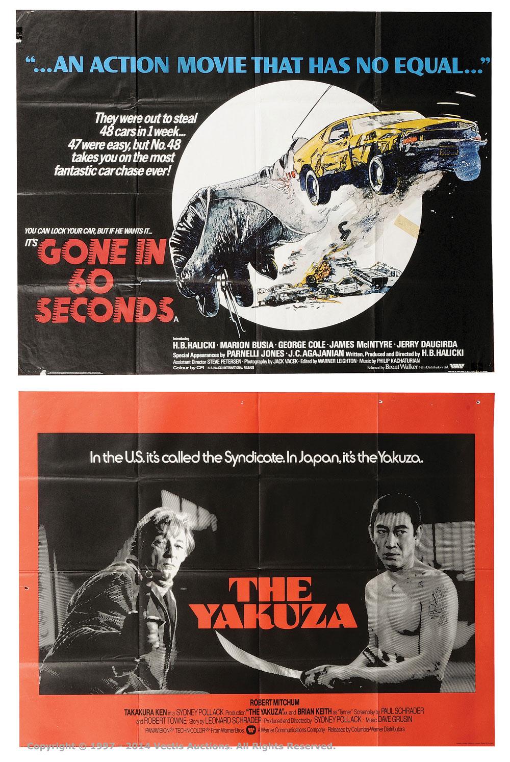 Film Poster Lot (1974)