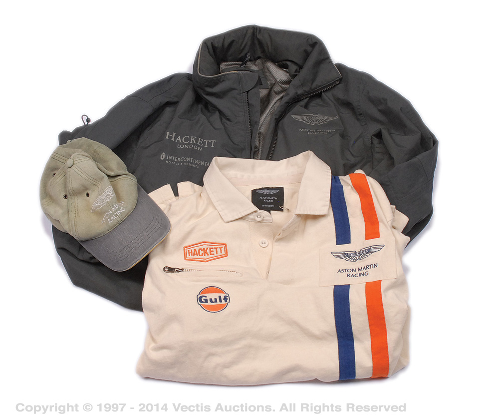 adfa4011c7f aston martin racing - a group of 3 x clothing items