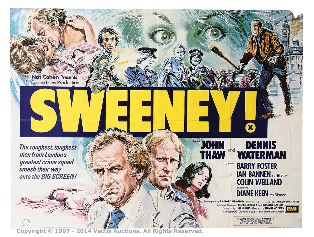 Sweeney Film Poster Lot (1975-1979)