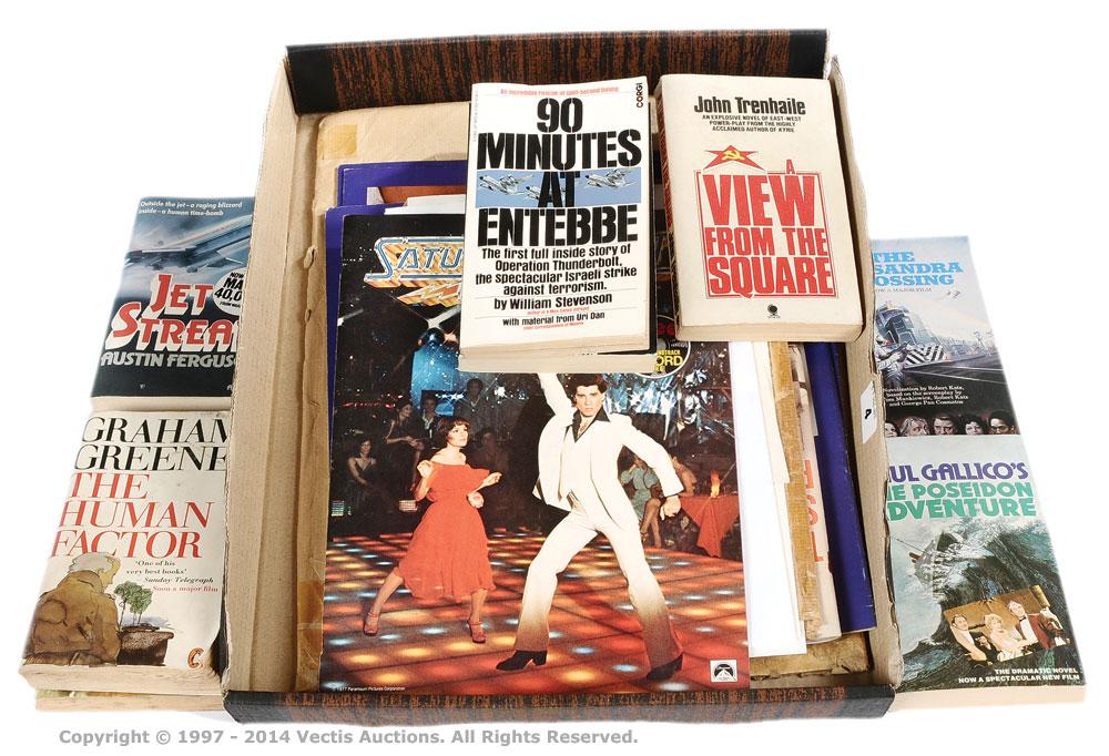Film Brochure and Leaflet lot (1968-1977)