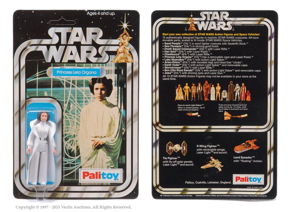 "Palitoy Star Wars Princess Leia Organa 3 3/4"" vintage figure,"