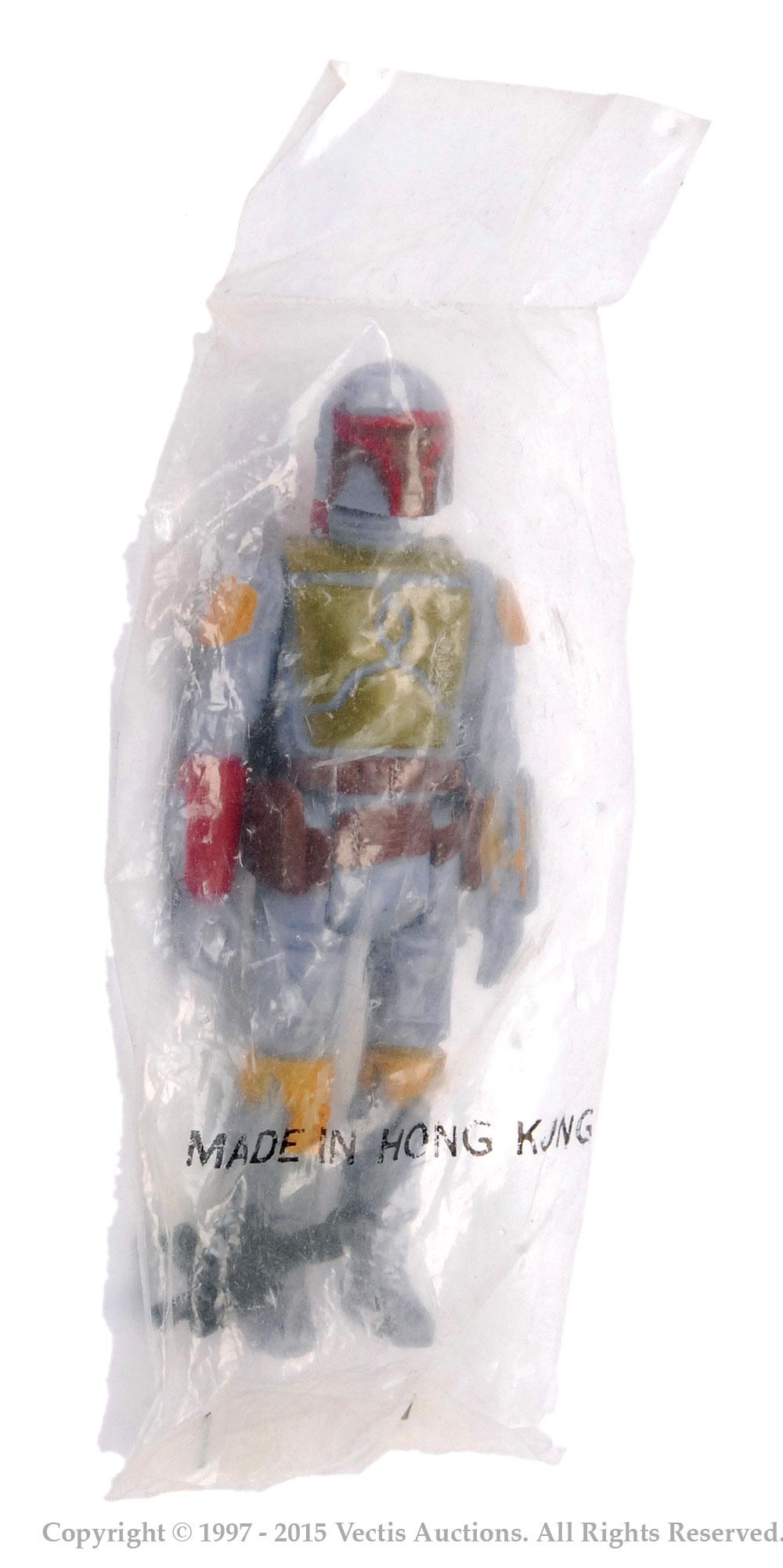 "Star Wars Boba Fett 3 3/4"" vintage figure"