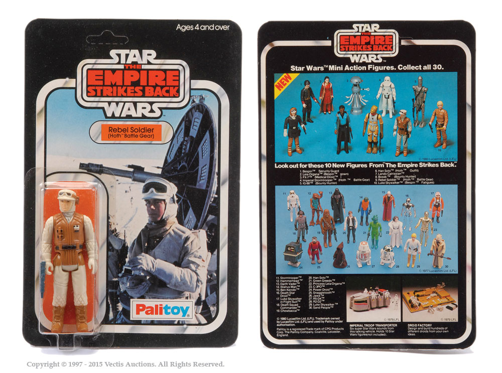 Palitoy Star Wars The Empire Strikes Back Rebel Soldier