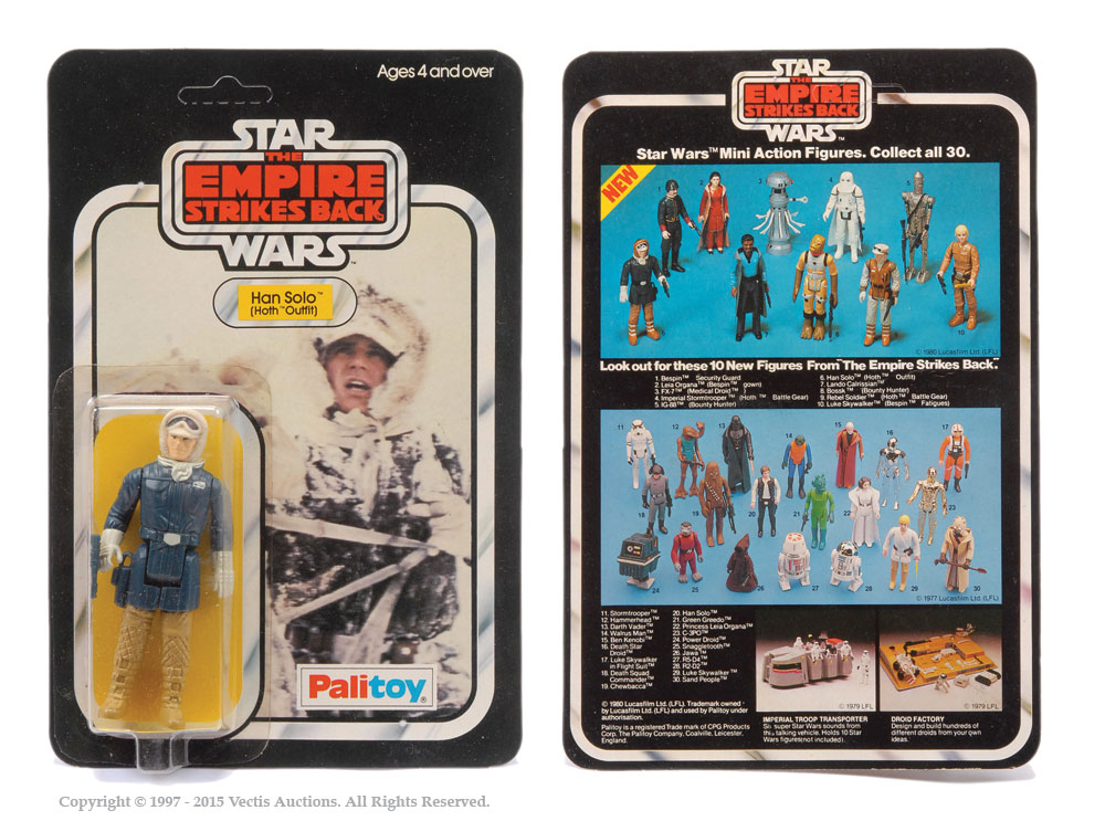 Palitoy Star Wars The Empire Strikes Back Han Solo