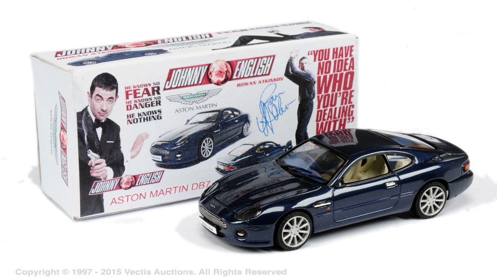 Johnny English Aston Martin Db7 Dark Metallic Blue