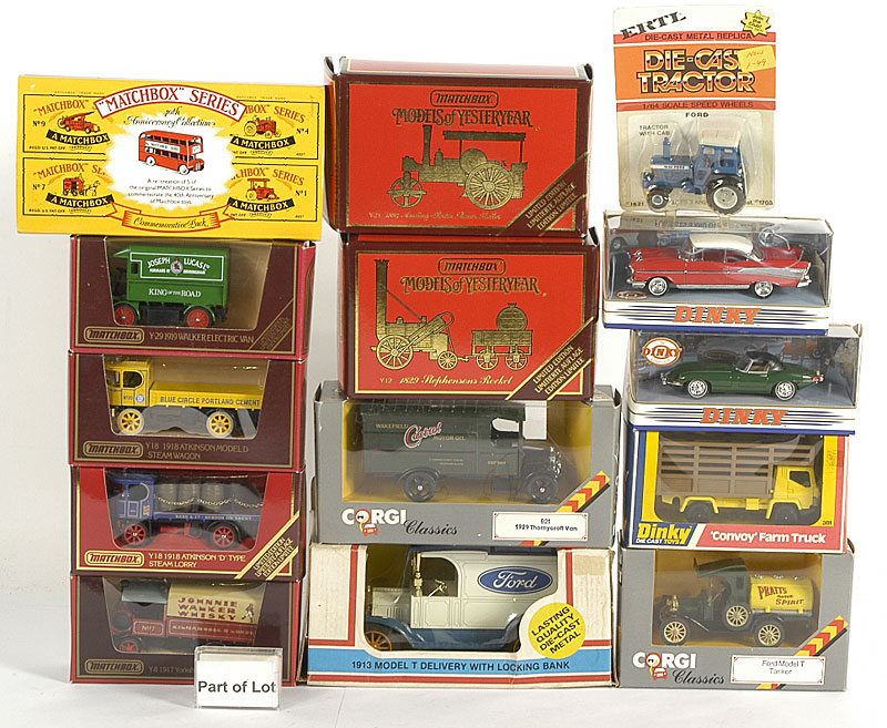 Matchbox Models of Yesteryear, Corgi Classics and others