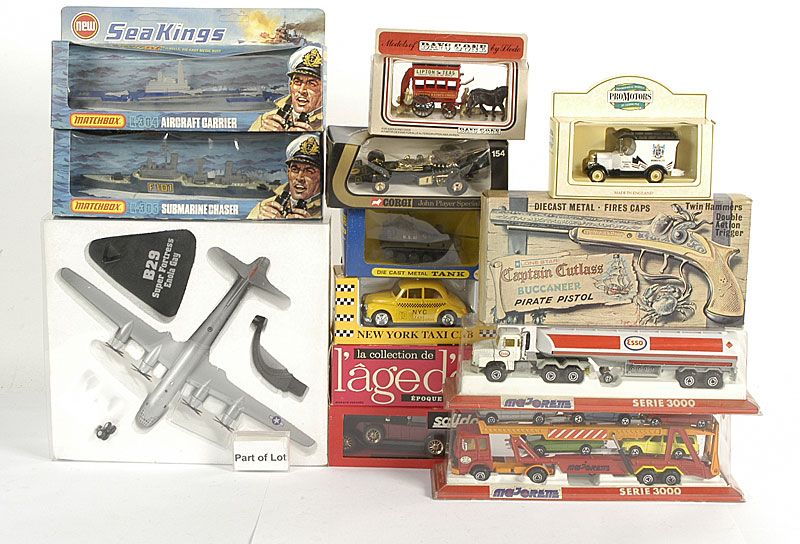 Solido, Lledo, Matchbox Seakings, Corgi and other miscellaneous diecast including - Corgi larger scale Lotus Formula 1, Solido Age D'or models
