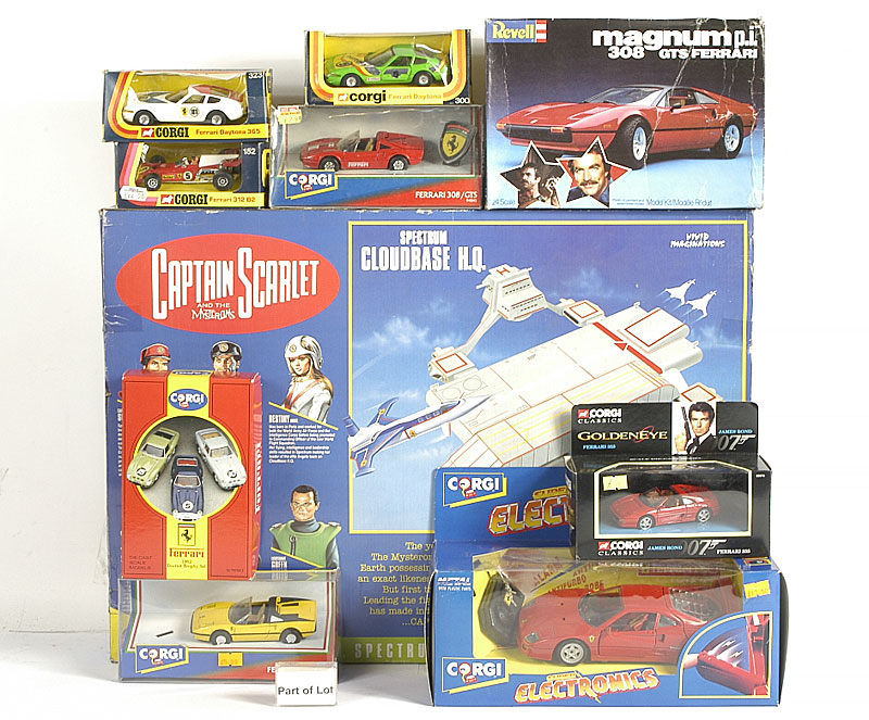 Captain Scarlet and the Mysterons Spectrum Cloudbase HQ 1990s set - Near Mint in Good Plus box