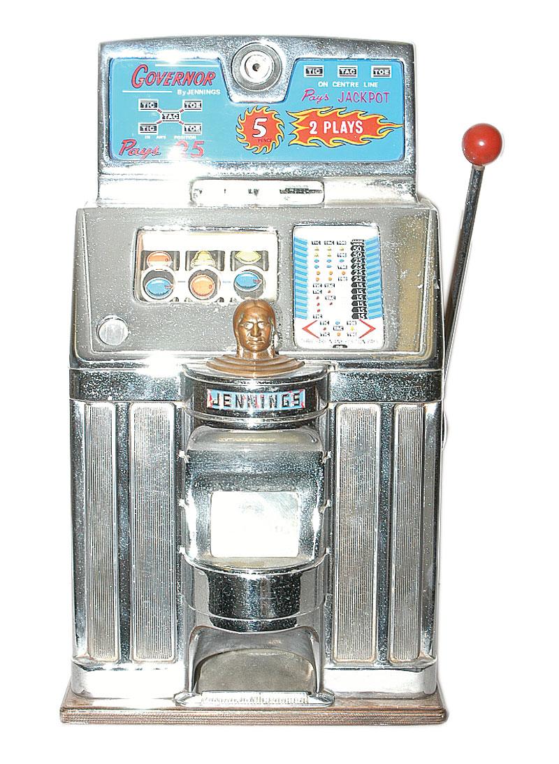 Slot machine governo