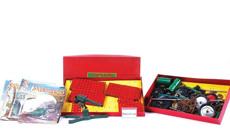 Meccano quantity of 1950s Sets including No